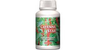 STARLIFE CAYENNE STAR, 60 cps - cayenne paprikát tartalmazó étrend-kiegészítő kapszula (STARLIFE-1105)