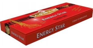 STARLIFE ENERGY STAR, 10× 10 ml - Méz alapú ivóampulla méhpempővel, Panax ginsenggel, Schisandrával és Guaranával, étrend-kiegészítő készítmény (STARLIFE-1555