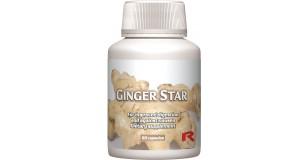 STARLIFE GINGER STAR, 60 cps - Gyömbér-gyökér port tartalmazó étrend-kiegészítő kapszula (STARLIFE-7161)