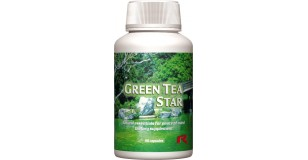 STARLIFE GREEN TEA STAR, 60 cps - Zöldtea-kivonatot tartalmazó étrend-kiegészítő kapszula (STARLIFE-1166)