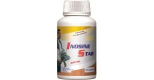 STARLIFE INOSINE STAR, 60 cps - Inozint tartalmazó kapszula sportolóknak, nehéz fizikai munkát végzőknek (STARLIFE-4577)