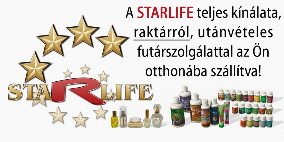 STARLIFE termékek raktárról!