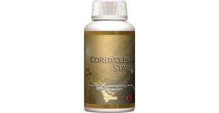 STARLIFE CORDYCEPS STAR, 60 cps - Cordyceps (kínai hernyógomba), reishi (pecsétviasz gomba) kivonatokat, valamint növényi kivonatokat tartalmazó étrend-kiegészítő kapszula (STARLIFE-1888)