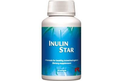 STARLIFE INULIN STAR, 60 sfg - Cikóriából kivont inulint tartalmazó étrend-kiegészítő kapszula (STARLIFE-4580)