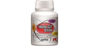 STARLIFE IRON GT STAR, 60 kapszula (cps) - az immunrendszer támogatására, fáradtság és kimerültség csökkentésére (STARLIFE-1577)