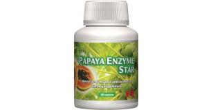 STARLIFE PAPAYA ENZYME STAR, 90 tbl - enzim és papája tartalmú étrend-kiegészítő (STARLIFE-6735)