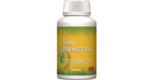STARLIFE SAW PALMETTO, 60 cps - Fűrészpálma termését tartalmazó étrend-kiegészítő kpsz a prosztata egészséges működésének fenntartására (STARLIFE-2739)