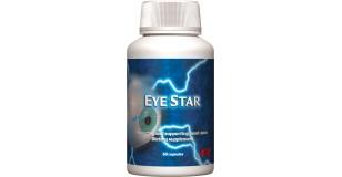 STARLIFE EYE STAR, 60 cps - Feketeáfonya kivonat, lutein, és szemvidítófű tartalmú étrend-kiegészítő kapszula A-vitaminnal és cinkkel a szem egészségéért (STARLIFE-