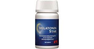 STARLIFE STAR MELATONIN STAR, 90 tabletta (tbl), az alvás minőségének javítására (STARLIFE-1750)