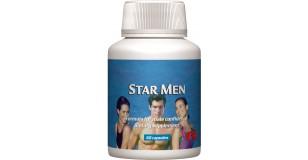 STARLIFE STAR MEN, 60 cps - Gyógy- és fűszernövényeket, cinket tartalmazó étrend-kiegészítő kapszula férfiaknak (STARLIFE-1010)