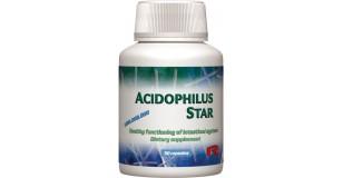 STARLIFE ACIDOPHILUS STAR, 60 cps - Lactobacillus Acidophilus, Lactobacillus Bifidus, Lactobacillus Rhamnosus és Enterococcus faecium tartalmú étrend-kiegészítő kapszula (STARLIFE-7100)