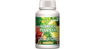STARLIFE ACEROLA PLUS STAR, 60 tbl - C-vitamin acerolával az immunrendszer védelmére (STARLIFE-1002)