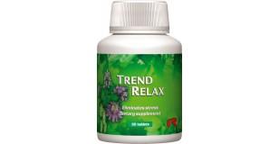 STARLIFE TREND RELAX, 60 tbl - Gyógynövényeket tartalmazó étrend-kiegészítő tabletta a jó közérzetért, a pihentető alvásért (STARLIFE-7292)