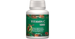 STARLIFE VITAMIN C 1000, 60 tbl - Csipkebogyó kivonatot és C-vitamint tartalmazó étrend-kiegészítő tabletta (STARLIFE-7303)