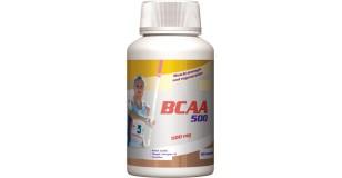 STARLIFE BCAA 500, 60 kapszula (cps) - Elágazó szénláncú aminosavak sportolóknak, testépítőknek, nehéz fizikai munkát végzőknek (STARLIFE-4511)