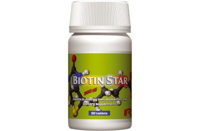 STARLIFE BIOTIN STAR, 60 tabletta (STARLIFE-7077)