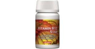 STARLIFE VITAMIN B12 STAR, 120 tbl - B12-vitamin tartalmú étrend-kiegészítő (STARLIFE-4520)