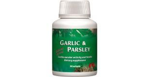STARLIFE GARLIC + PARSLEY, 90 sfg - Fokhagyma-kivonatot és petrezselyem levél-koncentrátumot tartalmazó lágyzselatin kapszula (STARLIFE-7160)