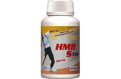 STARLIFE HMB STAR, 90 cps - Béta-hidroxi-béta-metilbutirát (HMB) tartalmú kapszula, sportolóknak (STARLIFE-4568)