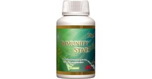 STARLIFE IMMUNITY STAR, 60 cps - Echinacea purpurea (bíbor kasvirág), rozmaring, kakukkfű, kerti izsóp, vörösmoszat és fűszernövény tartalmú étrend-kiegészítő kapszula (STARLIFE