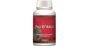 STARLIFE PAU D`ARCO, 90 cps - Lapacho fa kérgét tartalmazó étrend-kiegészítő kapszula az ellenálló képesség növelésére (STARLIFE-2731)