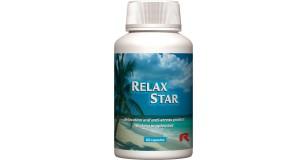 STARLIFE RELAX STAR, 60 cps - Gyógynövényeket tartalmazó étrend-kiegészítő kapszula C- és B-vitaminokkal, citrus bioflavonoidokkal a jó közérzetért (STARLIFE-2740)