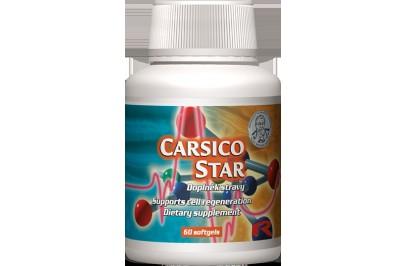 STARLIFE CARSICO STAR 60 kapszula - Q10 koenzimet, L-karnitint és E-vitamint tartalmazó étrend-kiegészítő (STARLIFE-1120)
