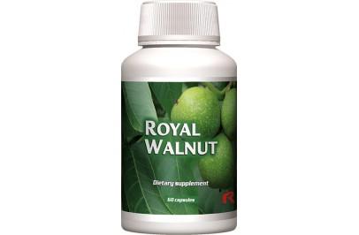 ROYAL WALNUT - ANTIBAKTERIÁLIS HATÁSA SEGÍTI ENYHÍTENI A BŐRPROBLÉMÁKAT - 60 kapszula - (STARLIFE-1588)