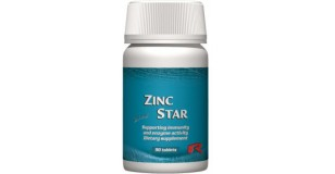 STARLIFE ZINC STAR, 60 tbl - Cinket tartalmazó étrend-kiegészítő filmtabletta (STARLIFE-7225)