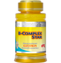 STARLIFE B-COMPLEX STAR, 60 tbl - B-vitaminokat tartalmazó tabletta, étrend-kiegészítő készítmény (STARLIFE-7330)