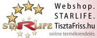 STARLIFE webáruház, online termék rendelés: bezárt!